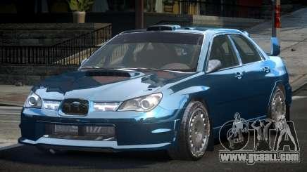 Subaru Impreza STI Qz for GTA 4