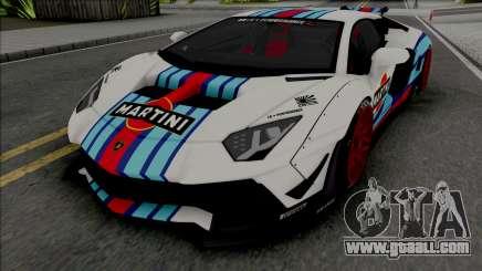Lamborghini Aventador Limited Edition for GTA San Andreas