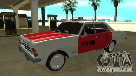 Chevrolet Opala 1979 GL RadioTaxi from COOPERTESP for GTA San Andreas