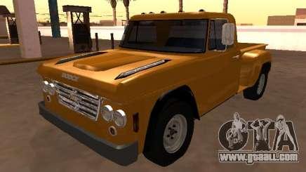 Dodge D500 1965 Stepside for GTA San Andreas