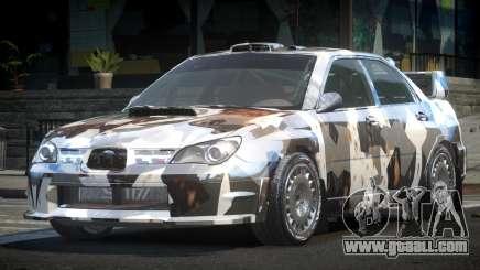 Subaru Impreza STI Qz L3 for GTA 4