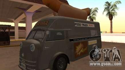 Time Matador 1952 HotDog Van for GTA San Andreas