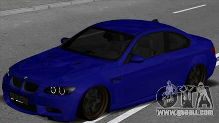BMW M3 E92 Low for GTA San Andreas
