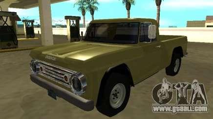 Dodge D-100 1966 for GTA San Andreas