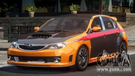Subaru Impreza STI SP-R L1 for GTA 4