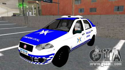 Fiat Siena Police for GTA San Andreas