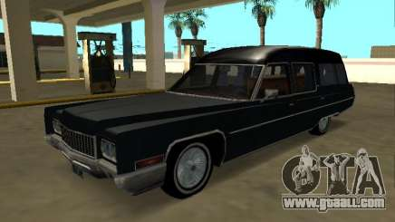 Cadillac Fleetwood 1970 Hearse Pack for GTA San Andreas