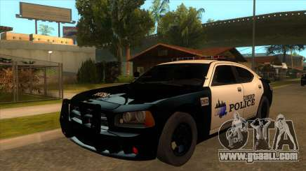 DMRP Dodge Charger Police for GTA San Andreas