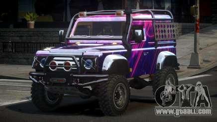 Land Rover Defender Off-Road PJ4 for GTA 4