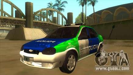 Chevrolet Corsa Police Bonaerense for GTA San Andreas