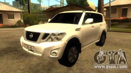 Nissan Patrol Y62 for GTA San Andreas