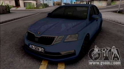 Skoda Octavia 2018 for GTA San Andreas