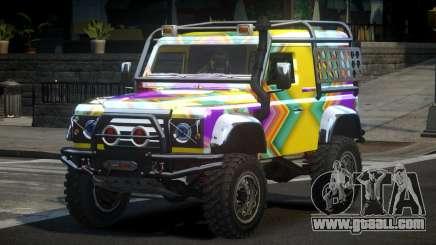 Land Rover Defender Off-Road PJ8 for GTA 4