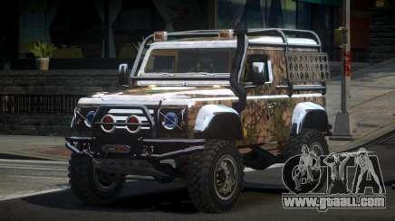 Land Rover Defender Off-Road PJ9 for GTA 4