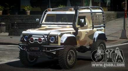 Land Rover Defender Off-Road PJ3 for GTA 4