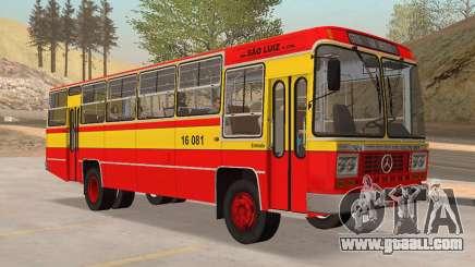 Bus Caio Gabriela II MBB LPO-1113 1979 for GTA San Andreas