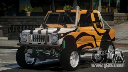 Suzuki Samurai Off-Road PJ5 for GTA 4