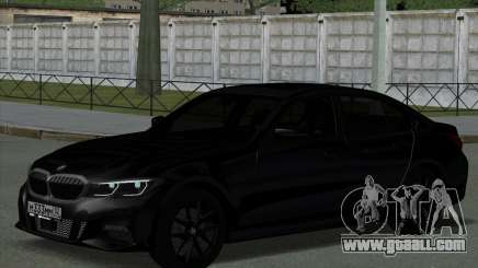 BMW 330i G20 for GTA San Andreas