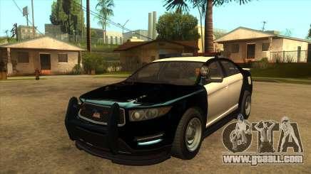 MGRP Police Vapid Interceptor for GTA San Andreas