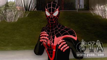 Spiderman Miles Morales Classic Suit for GTA San Andreas