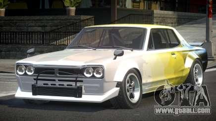 1977 Nissan Skyline KGC10 GT L6 for GTA 4