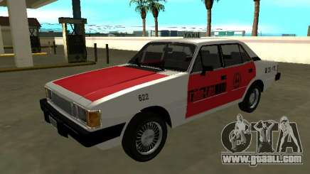 Chev Opala Diplomat 1987 Radio Taxi from COOPERT for GTA San Andreas