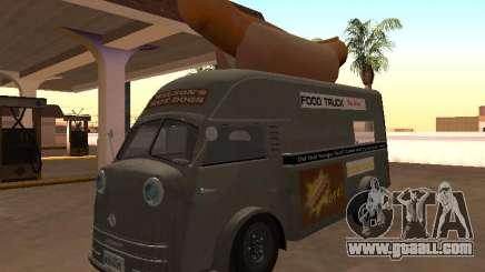 Time Matador 1952 Hotdog Van - Edition for GTA San Andreas