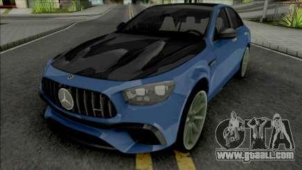 Mercedes-AMG E63s 2021 for GTA San Andreas