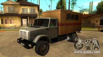 ZIL 4331 TTU for GTA San Andreas