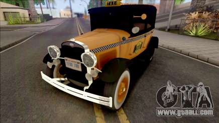 Ford Model A Taxi 1928 for GTA San Andreas