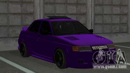 Vaz 2110 Tuning for GTA San Andreas