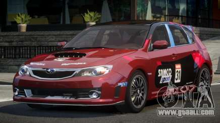 Subaru Impreza STI SP-R L7 for GTA 4
