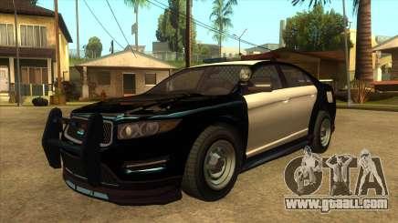MGRP Police Vapid Interceptor v2 for GTA San Andreas