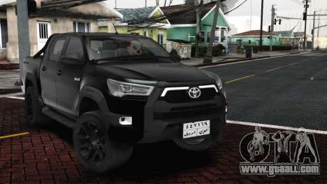 2021 Toyota Hilux invincible Exclusive for GTA San Andreas