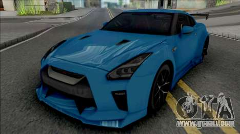 Nissan GT-R Premium KUHL Racing for GTA San Andreas