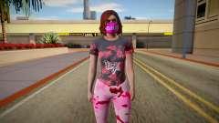 Female skin GTA ONLINE for GTA San Andreas