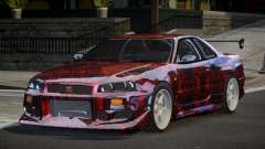 Nissan Skyline R34 GT-R PSI PJ5 for GTA 4