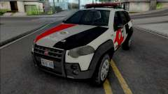 Fiat Palio Weekend Adventure 2013 PMESP