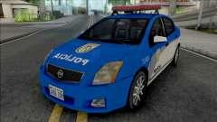 Nissan Sentra 2009 PMERJ for GTA San Andreas