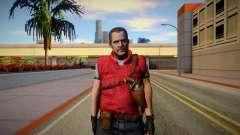 Barry Burton Skin for GTA San Andreas