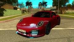 Porsche 911 Turbo S Black