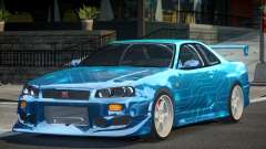 Nissan Skyline R34 GT-R PSI PJ1 for GTA 4