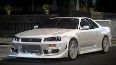 Nissan Skyline R34 GT-R PSI for GTA 4