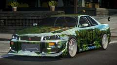 Nissan Skyline R34 GT-R PSI PJ10 for GTA 4