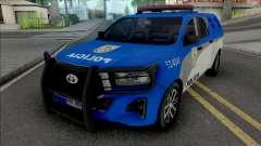 Toyota Hilux 2019 PMERJ Improved