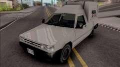 Fiat Fiorino 1995 (Van) v2 for GTA San Andreas
