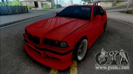 BMW 3-er E36 1996 AeroKit by Hazzard Garage for GTA San Andreas