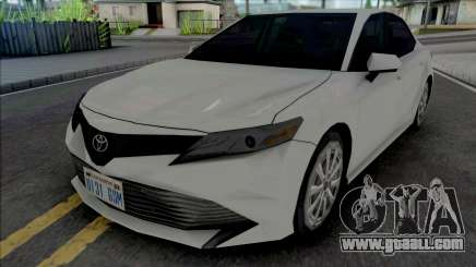 Toyota Camry XLE 2018 for GTA San Andreas