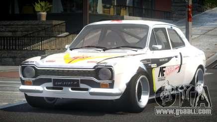 Ford Escort Urban Racing PJ8 for GTA 4