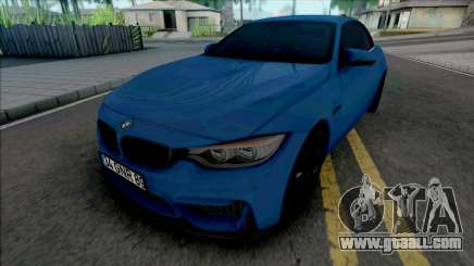 BMW M4 F82 Convertible for GTA San Andreas